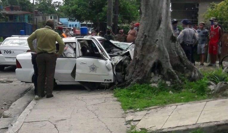 Policías muertos en lamentable accidente