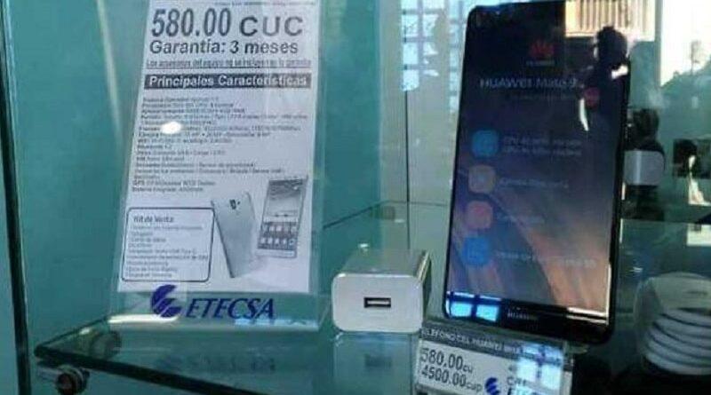 Etecsa anuncia la venta en MLC de celulares en Cuba