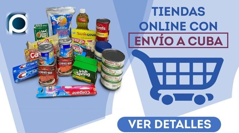 Tiendas online con envío a Cuba