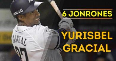 Yurisbel Gracial pegó su sexto jonrón en la liga japonesa