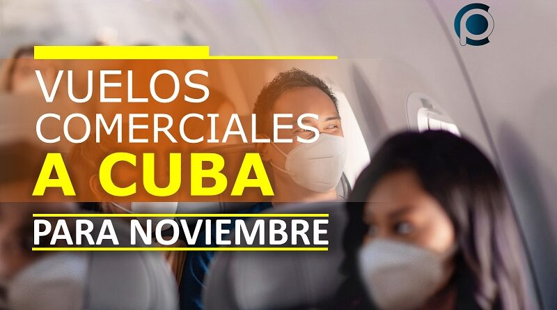 Aerolíneas planifican vuelos comerciales a Cuba