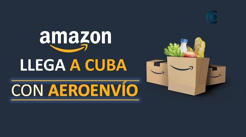 Amazon llega a Cuba con Aeroenvío
