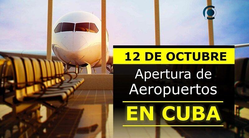 Apertura de aeropuertos en Cuba
