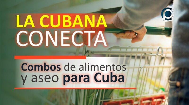 La Cubana es una de las plataformas digitales que actualmente brinda servicios compra online de combos de alimentos y aseo para enviar a Cuba.