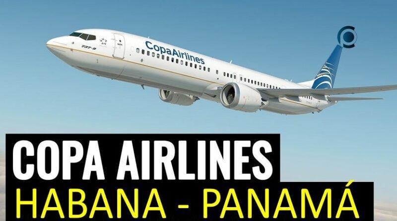 Copa anuncia vuelos entre La Habana y Panamá
