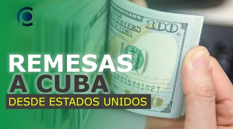Remesas a Cuba desde Estados Unidos