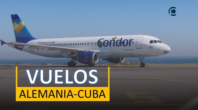 Se retoman vuelos turísticos entre Alemania y Cuba