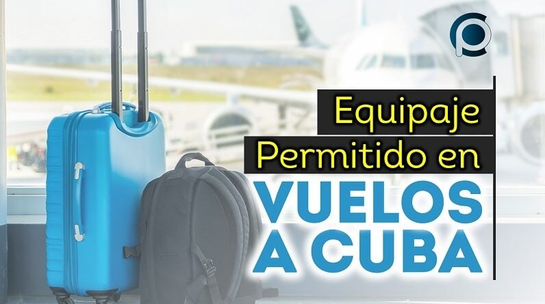 Equipaje permitido en vuelos a Cuba
