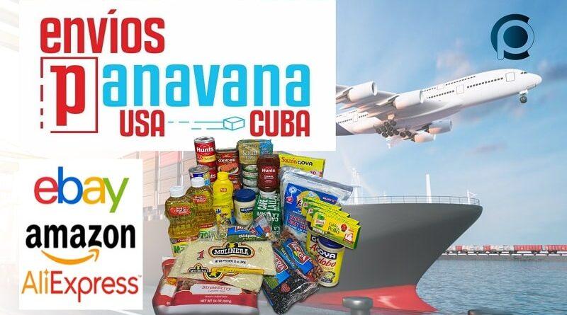 Comprar y enviar productos a Cuba con Panavana