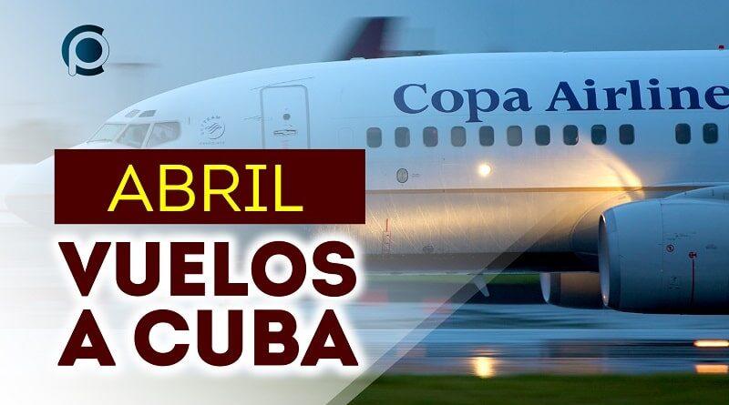 Copa Airlines anuncia vuelos a Cuba para abril
