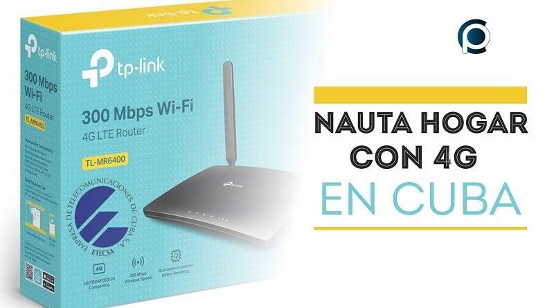 Nauta Hogar a través de la red 4G en Cuba