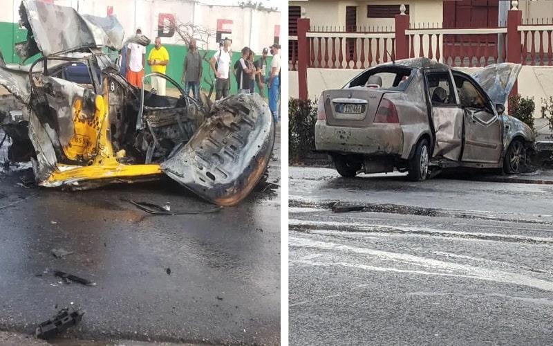 Lamentable accidente masivo de tránsito en La Habana