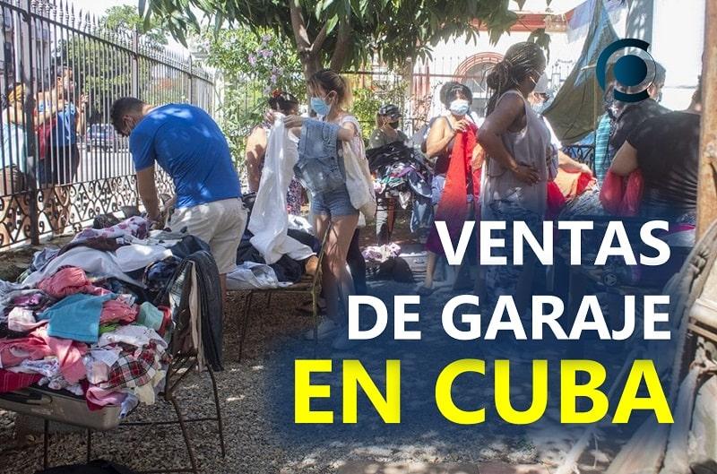 Ventas de garaje en Cuba