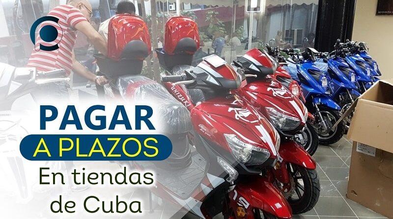 Pagar a plazos en tiendas de Cuba