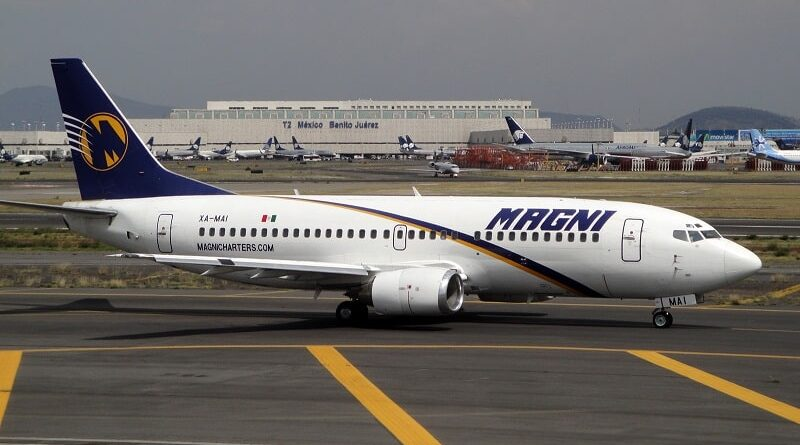 Aerolínea mexicana Magnicharters realizó su primer vuelo a Cuba