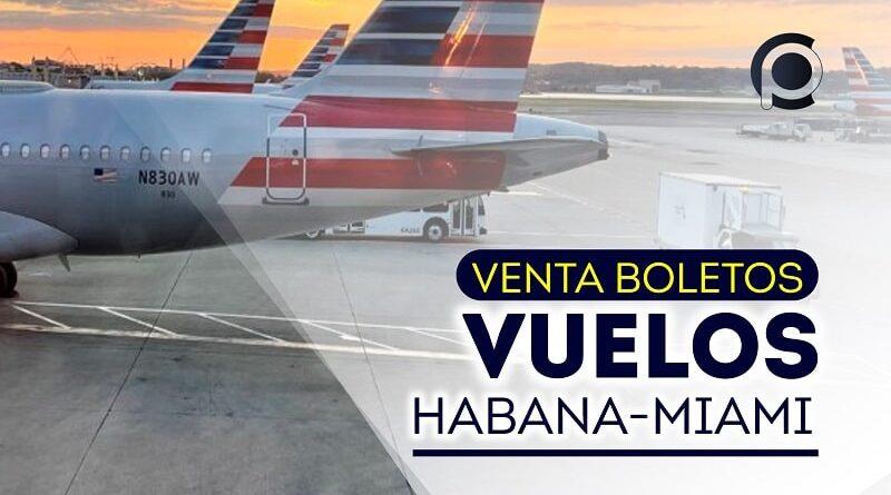 Anuncia Havanatur venta de boletos Habana-Miami